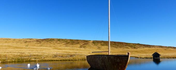 """""""Timshel I"""" Segelboot Glittner See segelt weiter….."""